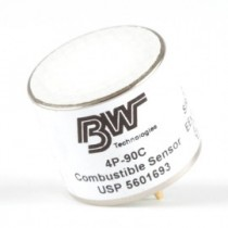 Replacement Combustible (% LEL) Sensor with Heavy Duty Silicone Filter (#SR-W04)