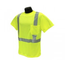 Class 2 Hi-Viz T-Shirt with Max-Dri™, Green (#ST11-2PGS)
