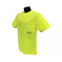 Short Sleeve Non-Rated T-Shirt, Hi-Viz Green (#ST11-NPGS)