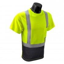 Type R Class 2 Short Sleeve Black Bottom T-Shirt (#ST11B-2PGS)