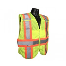 Type R Class 2 Breakaway Expandable Two Tone Vest, Hi-Viz Green (#SV24-2ZGM)