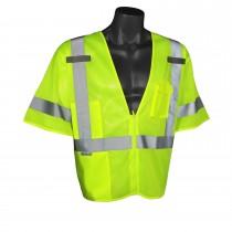 Economy Mesh Class 3 Vest, green (#SV3ZGM)
