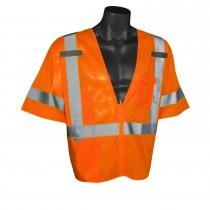 Economy Mesh Class 3 Vest, orange (#SV3ZOM)