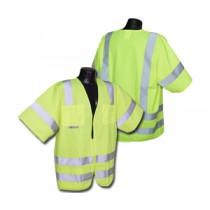 Standard Class 3 Vest, Hi-Viz Green Mesh (#SV83GM)