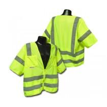 Standard Class 3 Vest, Hi-Viz Green Solid (#SV83GS)