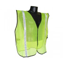 "Non-Rated Vest, 1"" Tape, Hi-Viz Green (#SVG1)"
