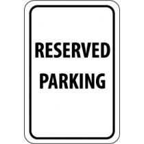 Reserved Parking Sign (#TM5)