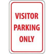 Visitor Parking Only Sign (#TM7)