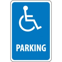 Handicapped Parking Sign (#TM94)
