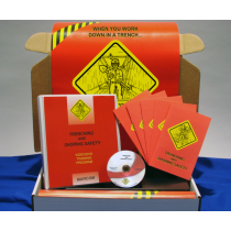 Trenching and Shoring Safety in Construction Environments DVD Kit (#K0002699ET)