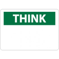 Think Sign (blank) (#TS1)