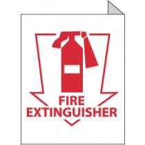 Fire Extinguisher 2-Vue Sign (#TV12)