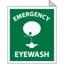 Emergency Eyewash Sign (#TV2)
