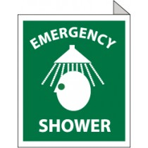 Emergency Shower Sign (#TV3)