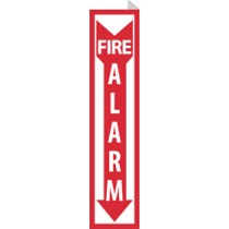 Fire Alarm 2-Vue Sign (#TV42)