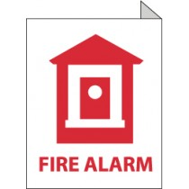 Fire Alarm 2-Vue Sign (#TV7)