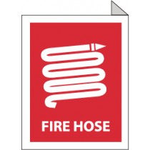 Fire Hose 2-Vue Sign (#TV8)