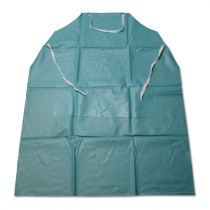 20mil Vinyl Apron Green Stomach Pouch (#UG-20-45SP)