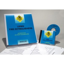 Fire Extinguishers Interactive CD (#C0002940ED)