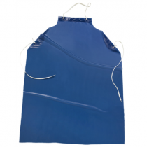8 mil Raw Edge Apron Blue (#UUPB)