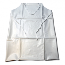 20mil Raw Edge Apron White (#UW-20-45)
