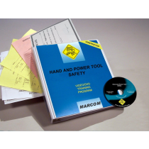 Hand and Power Tool Safety in Construction Environments DVD Program (#V0000769ET)