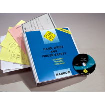 Hand, Wrist, and Finger Safety in Construction Environments DVD Program (#V0000779ET)