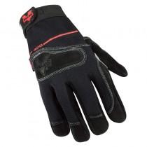 Mechanics Split-Leather Anti-Vibration Gloves (#V420)