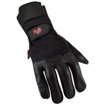 PRO Full-Finger Anti-Vibration Gloves with Wrist Strap (#V435-WS)