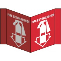 Fire Extinguisher Visi Sign (#VS11)