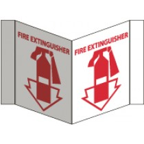 Fire Extinguisher Visi Sign (#VS1)