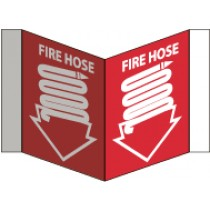 Fire Hose Visi Sign (#VS2)