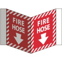 Fire Hose Visi Sign (#VS33W)