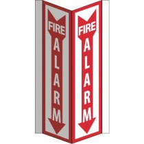 Fire Alarm Visi Sign (#VS41W)