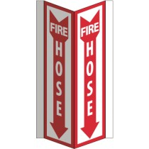 Fire Hose Visi Sign (#VS45W)