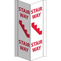 Stairway Visi Sign (#VS46W)