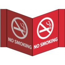 No Smoking Visi Sign (#VS9)