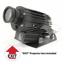 VIRTUAL SIGN PROJECTOR: EXIT (#VSP3)