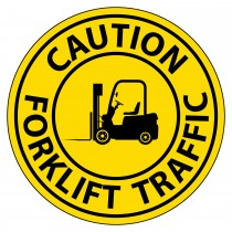 VIRTUAL SIGN PROJECTOR LENS ONLY: CAUTION - FORKLIFT TRAFFIC (#VSPL1)