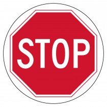 VIRTUAL SIGN PROJECTOR LENS ONLY: STOP (#VSPL2)