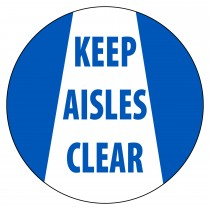 VIRTUAL SIGN PROJECTOR LENS ONLY: KEEP AISLES CLEAR (#VSPL4)