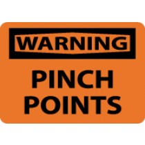 Warning Pinch Points Sign (#W149)