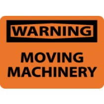Warning Moving Machinery Sign (#W400)