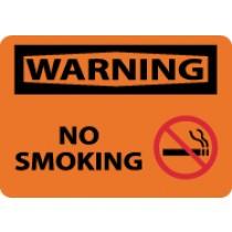 Warning No Smoking Sign (#W457)