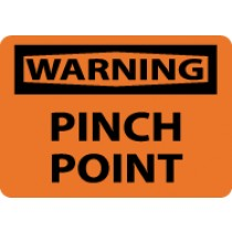 Warning Pinch Point Sign (#W459)
