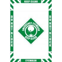 Eyewash Floor Marking Kit