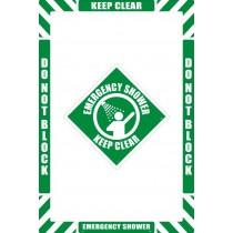 Emergency Shower Floor Marking Kit