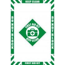 First Aid Floor Marking Kit