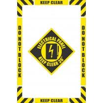 Electrical Panel Floor Marking Kit