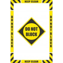 Do Not Block Floor Marking Kit